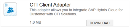 CTI Client Adapter