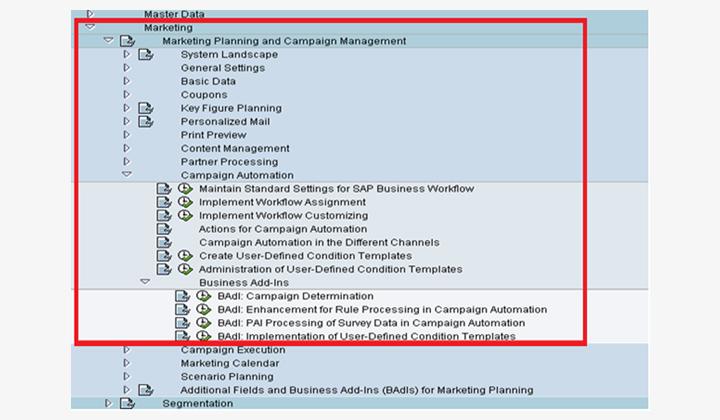 Customization steps automation