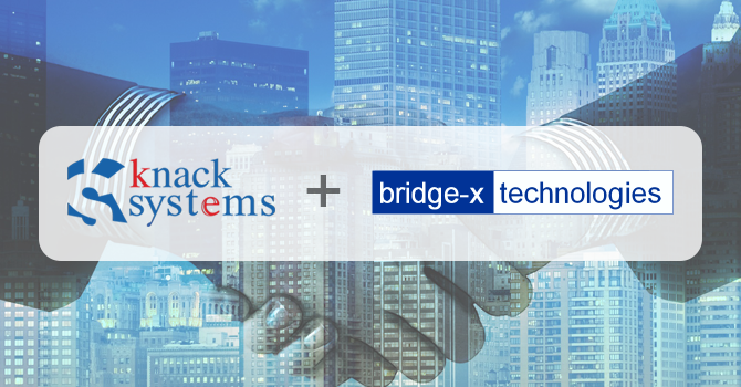 Press Release: Knack Systems acquires a leading customer experience solutions provider, Bridge-X Technologies