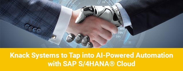 Press Release: Knack Systems is now a Light-house Partner for SAP S/4 HANA Multi-Tenant Cloud