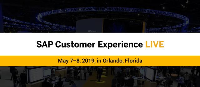Knack Systems at SAP Customer Experience LIVE, May 7–8, 2019, in Orlando, Florida