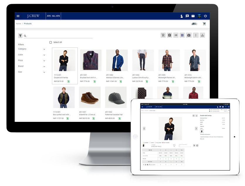 B2B Software Platform - Footwear & Accessories