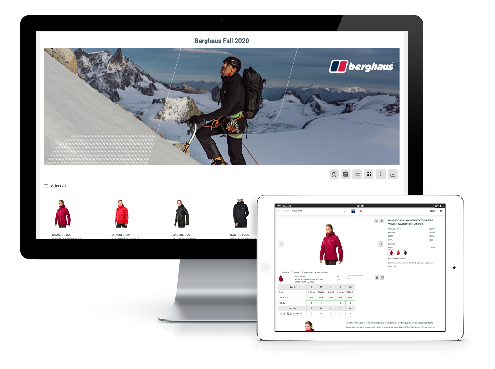 SeasonOne - B2B Wholesale Application for Apparel and Fashion Industry